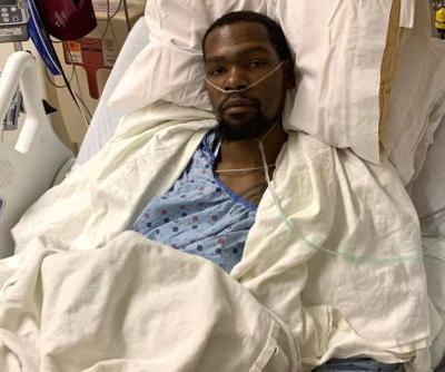 Kevin Durant confirms ruptured Achilles: 'Road back starts now'