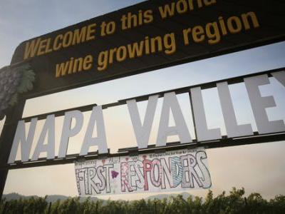 California Fires Spare Most Vineyards, But Marijuana Crops Go Up In Smoke