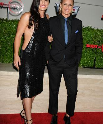 When Is Ashlyn Harris & Ali Krieger's Wedding? It's Coming Up Sooner Than You Might Expect