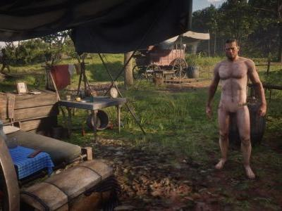 There's a Red Dead Redemption 2 nude mod - and Arthur has no dick