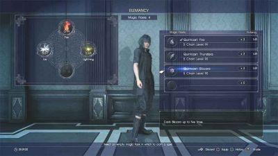 Final Fantasy XV Elemancy Guide - How To Make The Most Powerful Spells