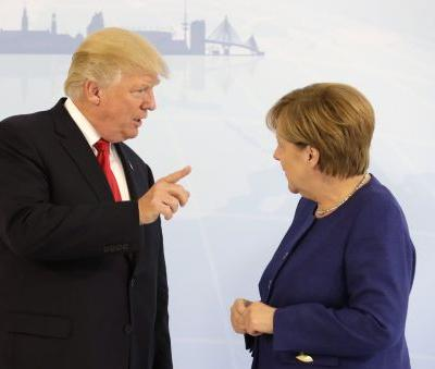 Merkel fires back at Trump after he says Germany is 'totally controlled by Russia'