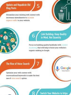 Infographic: 11 Useful SEO Techniques and Strategies
