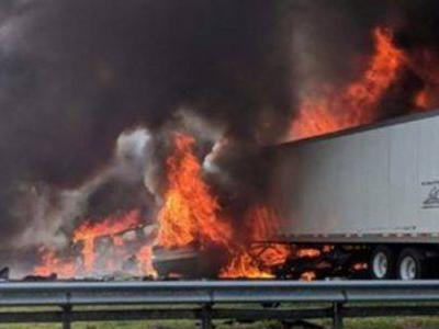 7 dead, 7 injured after diesel spill fire on I-75 near Gainesville