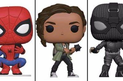 Far from Home Funko Pops! Include Battle-Ready MJ & Stealth