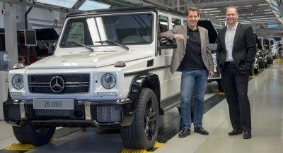 Mercedes G-Class Production Hits 20,000 Units In One Year For The First Time