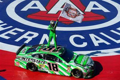 Kyle Busch wins second straight week, grabs NASCAR win No. 200