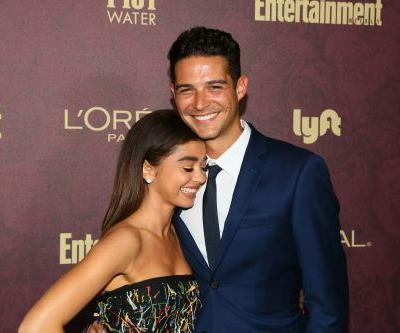 Wells Adams And Sarah Hyland Celebrate 1-Year Anniversary With Cute Story Of How They Made Their Romance Official