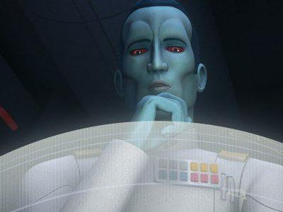 Star Wars Bits: Thrawn Returns, A Skywalker Family Reunion Planned, and A New Sith Lord Revealed