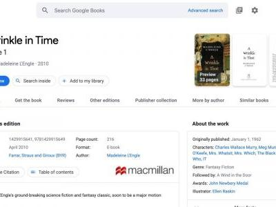 Google Books redesigned with Material Theme, more Search integration