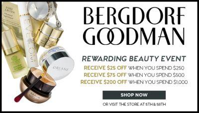 Sponsored: Bergdorf Goodman Rewarding Beauty Event & Limited Edition Picks!