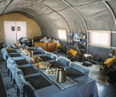 Run With the Wolves: White Desert's New Antarctic Camp