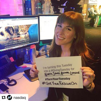 Thank you Meg and nasdaq for choosing us as your charity of