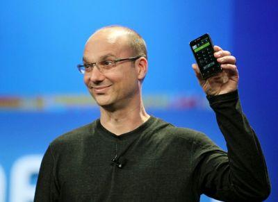 """Android co-founder prepping smartphone that """"lacks a surrounding bezel"""""""