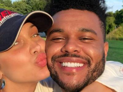 The Weeknd Wishes His 'Angel' Bella Hadid A Happy Birthday With Rare PDA-Packed Clip