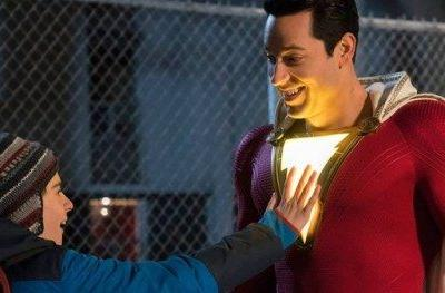 Shazam Gets Lit in New Photo and EW's Comic-Con