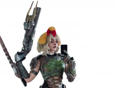 Doomguy And Isabelle Collide Again In Epic Cosplay