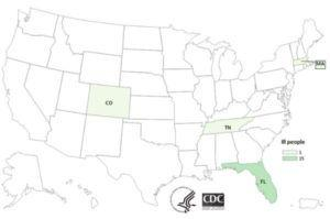 Cargill E. coli O26 Illnesses in Colorado (10), Florida (15), Massachusetts (1) and Tennessee (1) - 1 Death