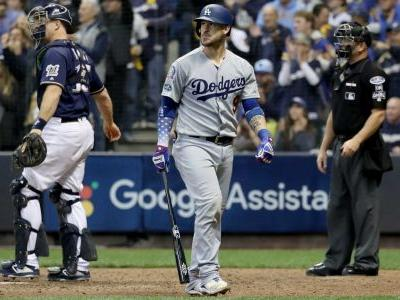 MLB postseason 2018: Dodgers C Yasmani Grandal back in lineup for NLCS Game 3