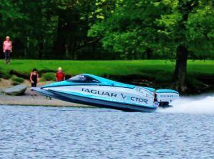 An Electric Jag Just Broke A World Record On Water