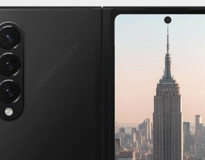 Samsung Galaxy Z Fold 3 image render leaked yet again