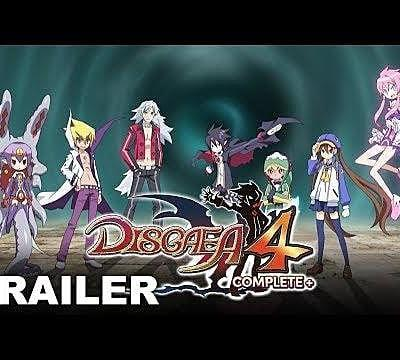 Disgaea 4 Complete+ Announced, Out this Fall on PS4 and Switch