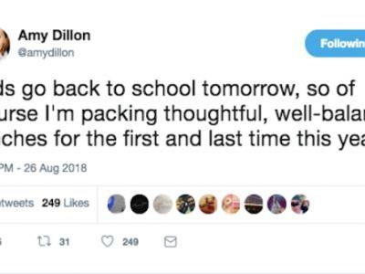 These Funny Back-To-School Tweets Will Have You In Tears Of Laughter