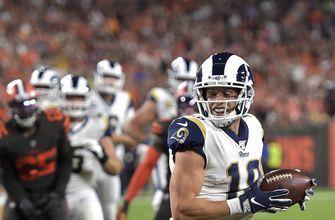 Goff throws 2 TDs passes, Rams hold off Browns 20-13