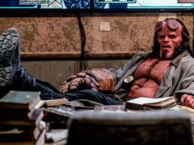 Superhero Bits: New 'Hellboy' Photos, The Bat Suit Symbol Gets a New Layer of Significance & More