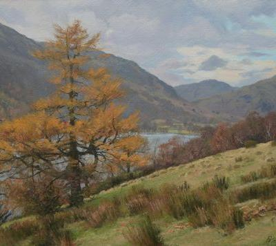 Autumn Larch by Buttermere
