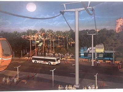 Disney World is building a new form of transportation to get around its parks - here's how it will look