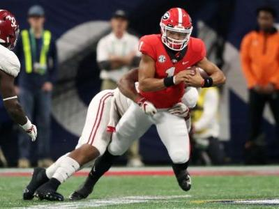 Georgia QB Fields says he's transferring to OSU