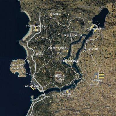 Call of Duty: Black Ops 4 - here's a look at the Blackout map ahead of beta