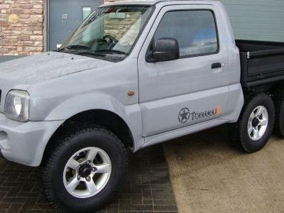 We Have So Much Love For This Unique 6x4 Suzuki Jimny Pickup
