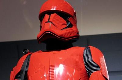 Rise of Skywalker Sith Trooper Unveiled at Comic-ConThe new Sith