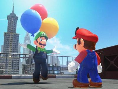 Mario Odyssey's first big update arrives, brings us Luigi's Balloon World