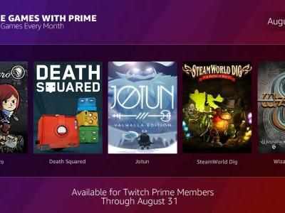 7 Free Games For Amazon / Twitch Prime In August Announced