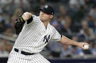 AP source: Britton, Yankees agree to $39M, 3-year contract