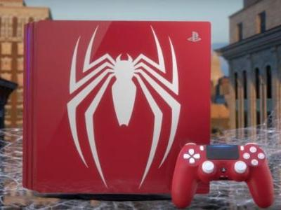 "Spider-Man: Marvel s'associe avec Sony pour une PS4 Pro ""Amazing Red"""
