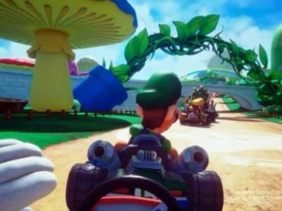 Mario Kart VR Coming to the UK