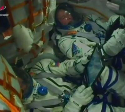 Astronauts land safely after Soyuz launch fails at 20 miles up