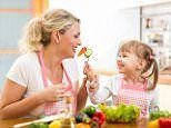 Children who eat healthier food are happier, study finds