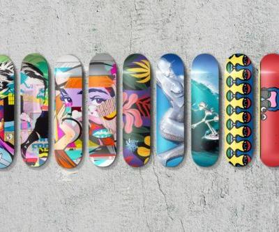 APPortfolio Teams up With Sorayama, POSE, Zebu and Craig & Karl on a Set of Limited Edition Skate Decks