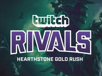 Twitch Rivals presents: the Hearthstone Gold Rush challenge