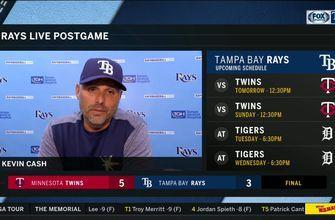 Kevin Cash on Twins: 'Good teams find ways to capitalize, and they did'