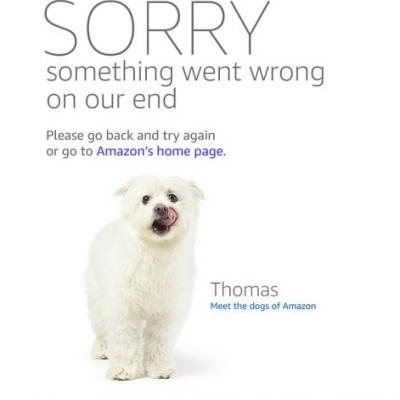 Here's the story behind the dogs you're seeing on the Amazon Prime Day error pages