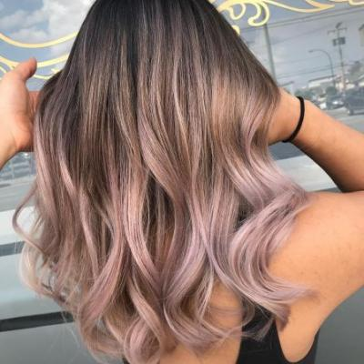 Chocolate Lilac Hair Is the Perfect Trend for Brunettes to Try This Season