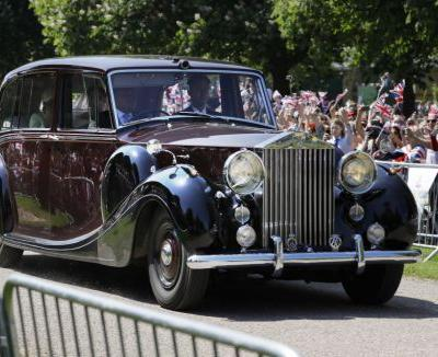 From Vintage to Electric: See the Regal Cars of the Royal Wedding