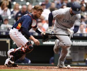 Morton, Stassi lead Astros over Padres 4-1 for series win