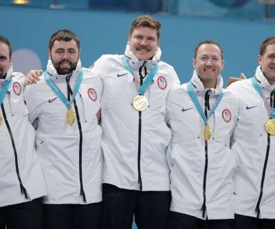 US curlers' first gold medals were the wrong ones